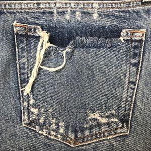 "Agolde Shorts - Agolde Parker Vintafe Jean Shorts Womens 31"""
